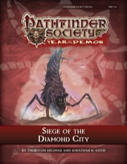 Pathfinder Society Special: Siege of the Diamond City (PFRPG) PDF