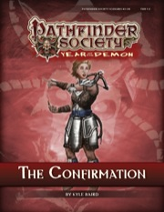 Pathfinder Society Scenario #5–08: The Confirmation (PFRPG) PDF