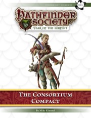 Pathfinder Society Scenario #7–10: The Consortium Compact (PFRPG) PDF