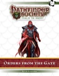 Pathfinder Society Scenario #7–25: Orders from the Gate (PFRPG) PDF