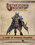 Pathfinder Society Scenario #9-02: A Case of Missing Persons (PFRPG) PDF