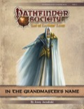 Pathfinder Society Scenario #9–21: In the Grandmaster's Name PDF