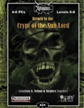 A24: Return to the Crypt of the Sun Lord (PFRPG) PDF
