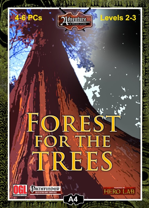 A4: Forest for the Trees (PFRPG) PDF