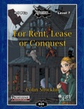 B20: For Rent, Lease, or Conquest (PFRPG) PDF