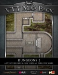 VTT Map Pack: Dungeons 2 (Download)