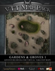 VTT Map Pack: Gardens & Groves 1 (Download)