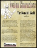 Avalon Characters Vol 1, Issue #5: The Boastful Skald (PFRPG) PDF