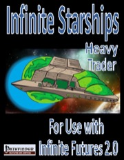 IF Starship Deck Plans, Heavy Trader (PFRPG) PDF