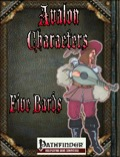 Avalon Characters: Five Bards (PFRPG) PDF
