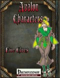 Avalon Characters: Five Elves (PFRPG) PDF