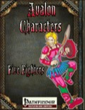 Avalon Characters: Five Fighters (PFRPG) PDF