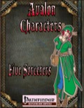 Avalon Characters: Five Sorcerers (PFRPG) PDF