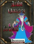 Avalon Characters: Five Wizards (PFRPG) PDF
