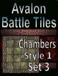 Avalon Battle Tiles—Dungeon Chambers: Set 3, Style 1 PDF