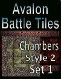 Avalon Battle Tiles, Dungeon Chambers, Set 1 Style 2 PDF