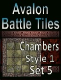 Avalon Battle Tiles: Dungeon Chambers Set 5 Style 1 PDF