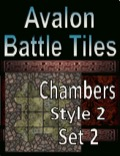 Avalon Battle Tiles, Dungeon Chambers, Set 2 Style 2 PDF