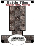 Battle Tiles: Dungeon Halls and Alcoves PDF