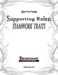 Supporting Roles: Teamwork Traits (PFRPG) PDF