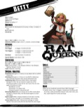 PaizoCon 2015: Rat Queens Pregenerated Characters PDF