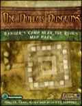 One Dollar Dungeon: Ranger's Camp Near the Ruins Map Pack PDF