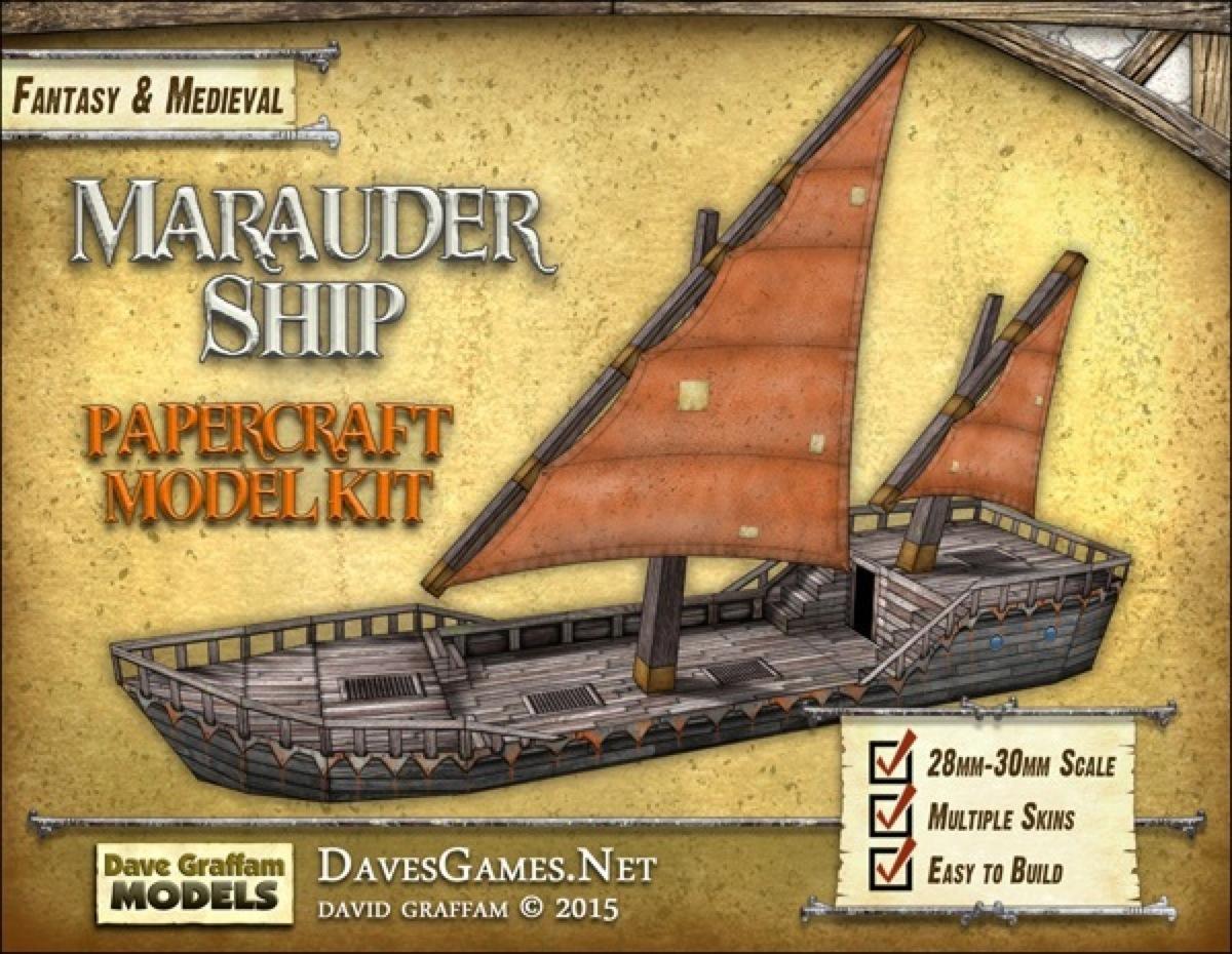 Paizo Com Marauder Ship Paper Model Pdf