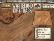 Wasteland Dirt Track Game Mat (Download)