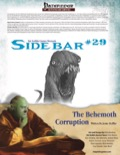 Sidebar #29: The Behemoth Corruption (PFRPG) PDF