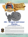 Expanded Options #6—Items of Quality: Weapons and Armor Charms (5E) PDF