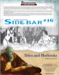 Sidebar #16—Titles and Plothooks (PFRPG) PDF