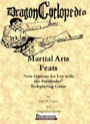 DragonCyclopedia: Martial Arts Feats (PFRPG) PDF