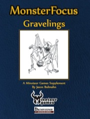 Monster Focus: Gravelings (PFRPG) PDF