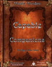 Weekly Wonders: Capable Companions (PFRPG) PDF