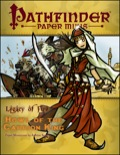 Pathfinder Paper Minis—Legacy of Fire Adventure Path Part 1: