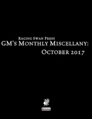 GM's Monthly Miscellany: October 2017 (PFRPG) PDF