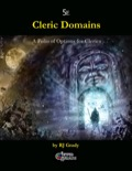 Cleric Domains, a Folio of Options for Clerics (5E) PDF