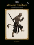 Monastic Traditions (5E) PDF