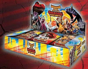 paizo dinosaur king colossal team battle booster