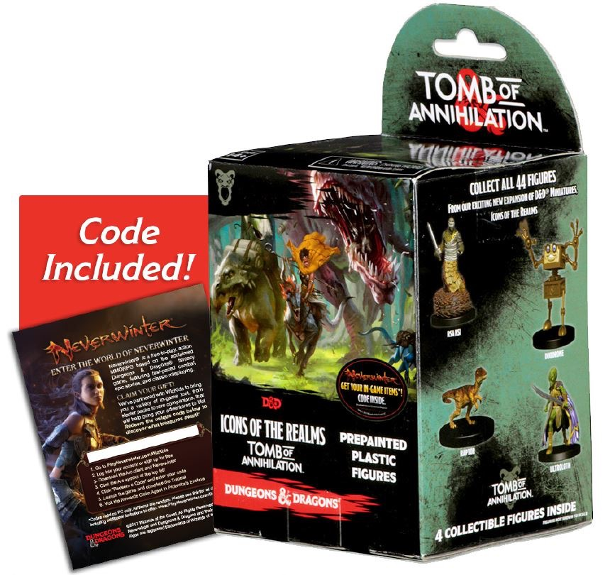 Dungeons and Dragons Fantasy Miniatures—Icons of the Realms Set 7: Tomb of  Annihilation
