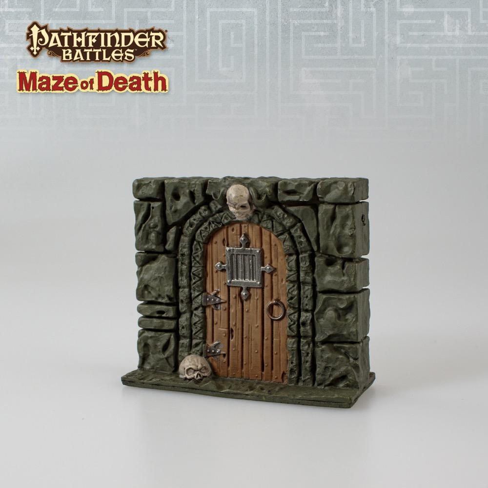 Pathfinder Battles\u2014Maze of Death Barred Door & paizo.com - Pathfinder Battles\u2014Maze of Death: Barred Door