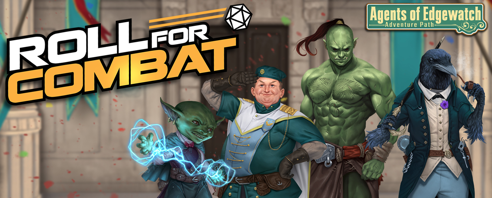 Roll For Combat the Agents of Edgewatch Adventure Path