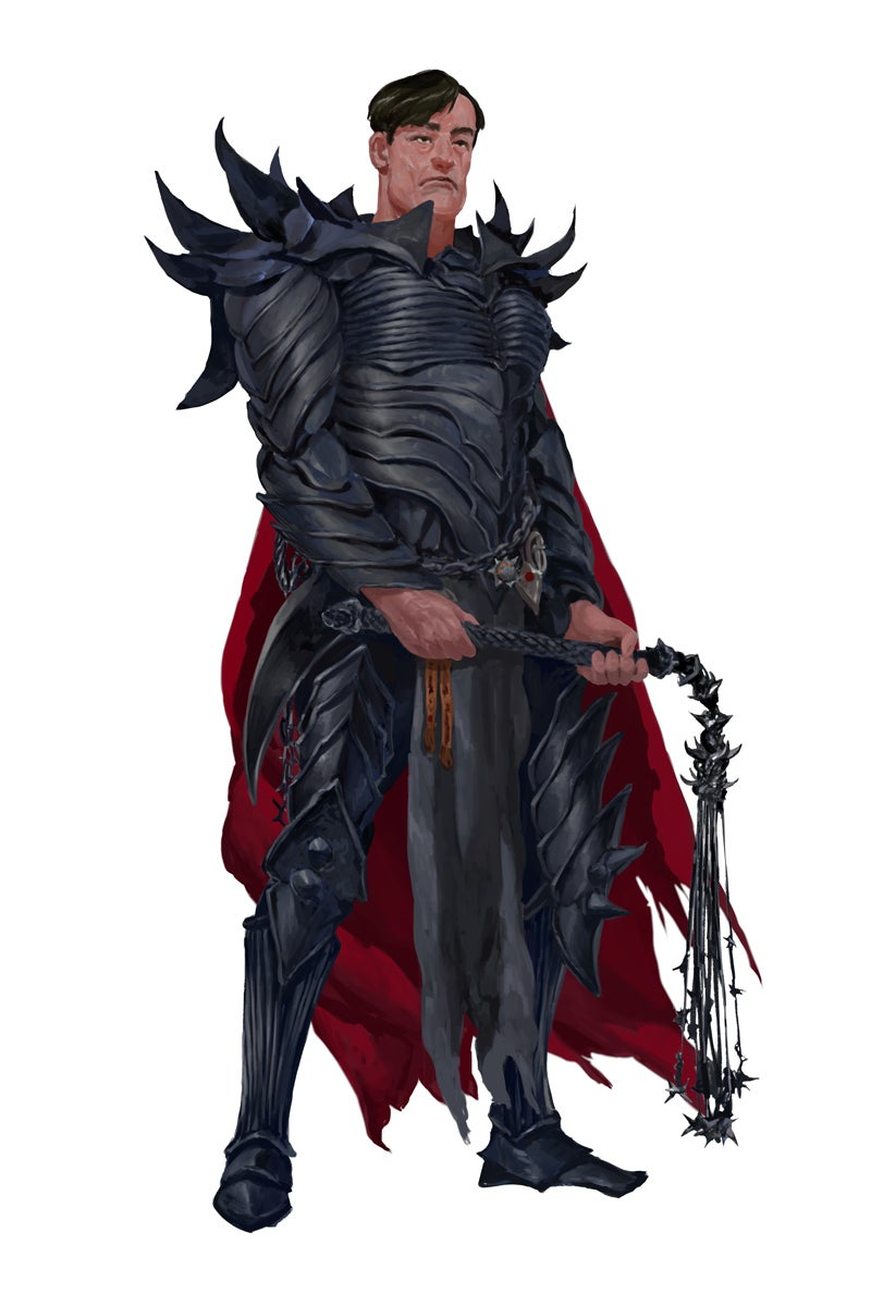 Toulon Vidoc, Lictor of the Hellknights of the Order of the Scourge.