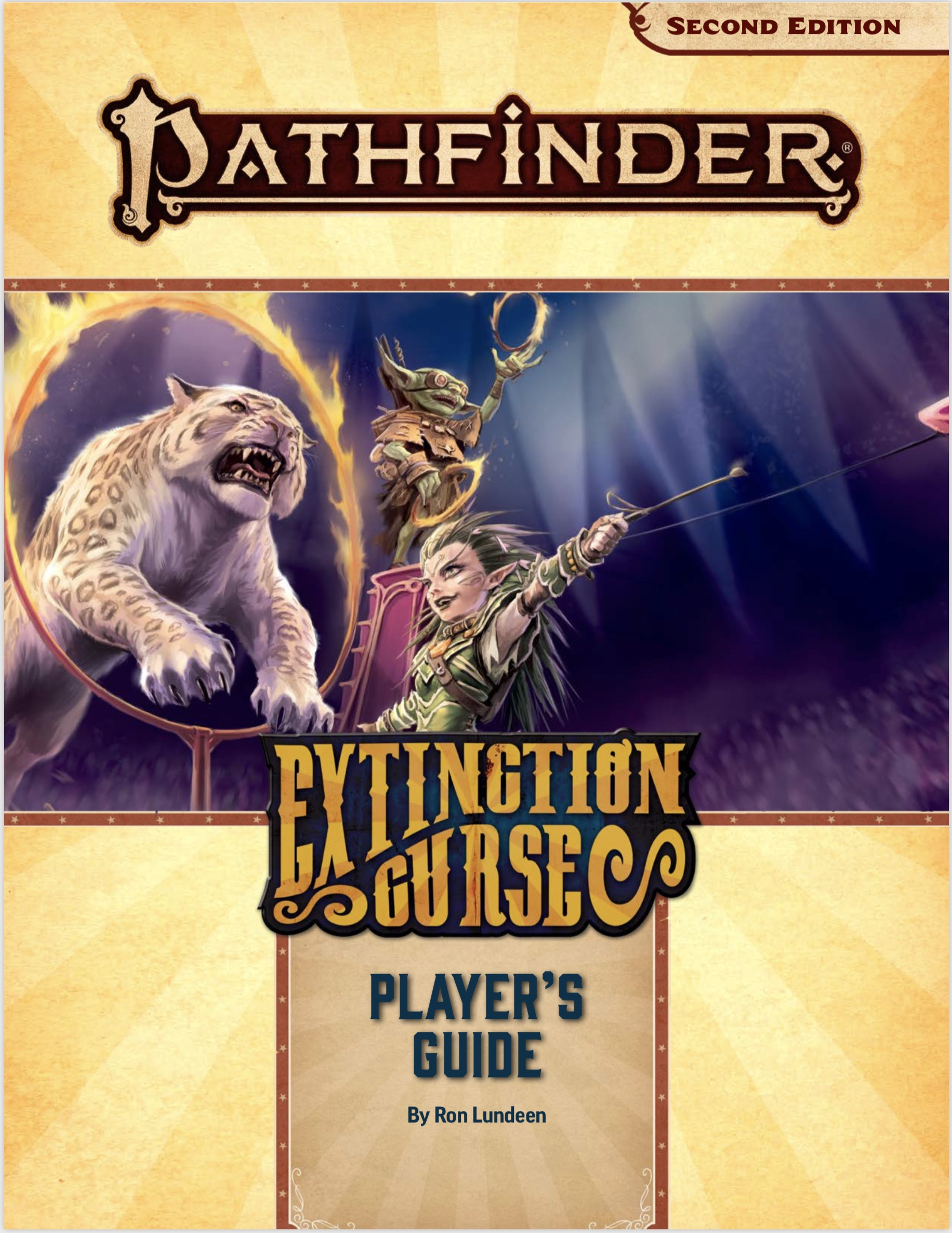 Pathfinder Adventure Path Extinction Curse Player's Guide Cover