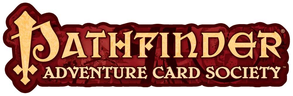 Logo for the Pathfinder Adventure Card Society
