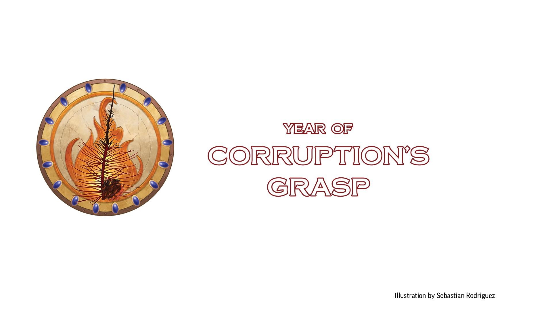 Pathfinder Society: Year of Corruption's Grasp Symbol
