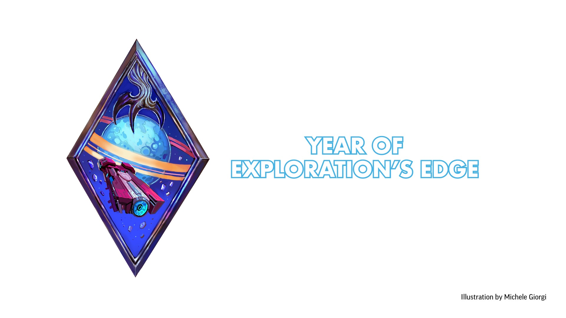 Starfinder Society: Year of Exploration's Edge symbol