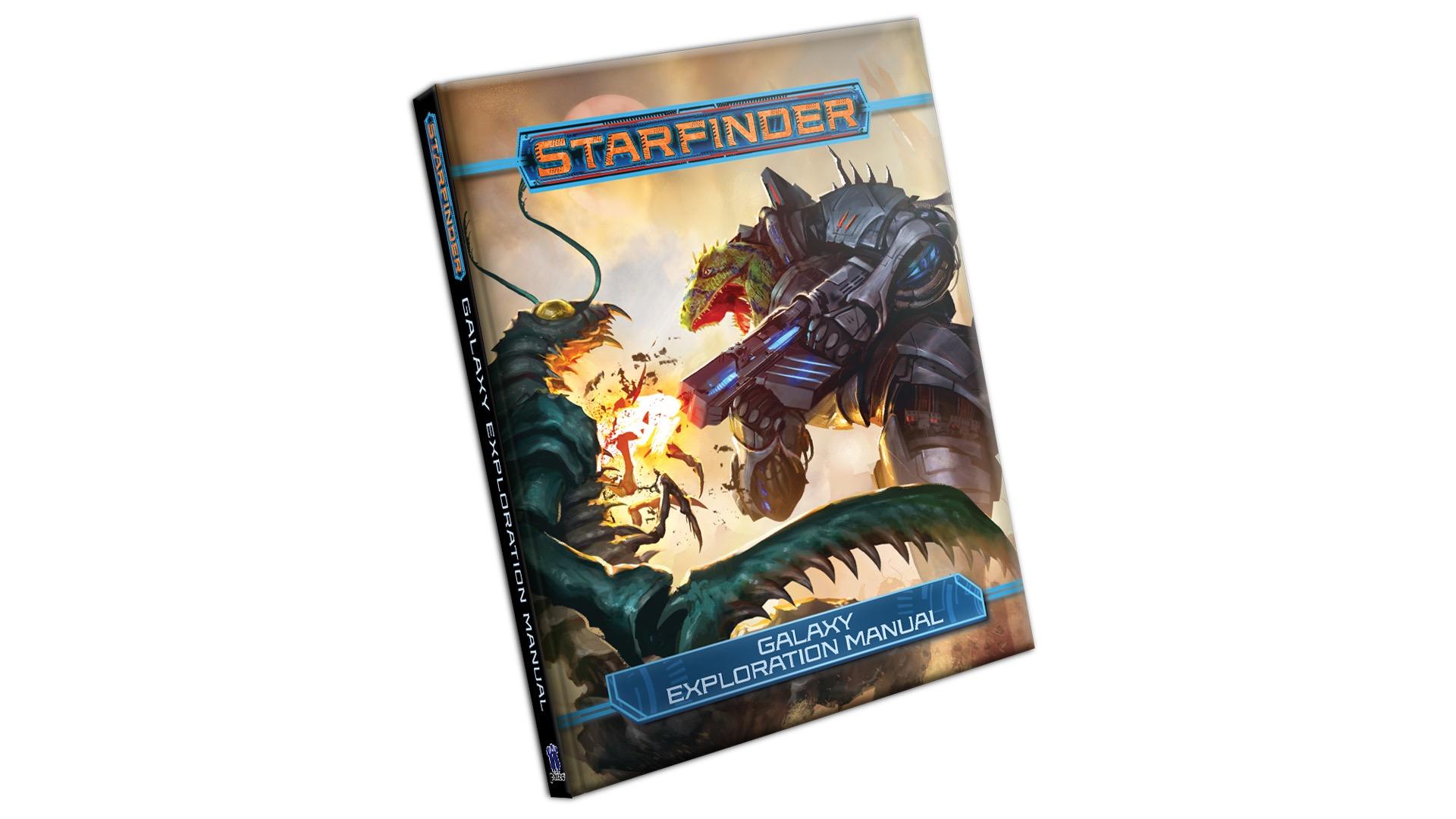 Galaxy Exploration Manual mockup cover
