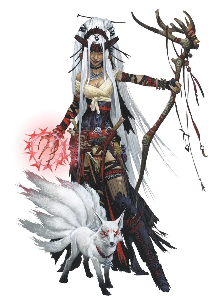 Pathfinder Iconic witch, Feiya
