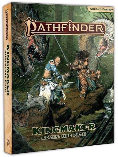 Pathfinder: Kingmaker Adventure Path 640-page hardcover